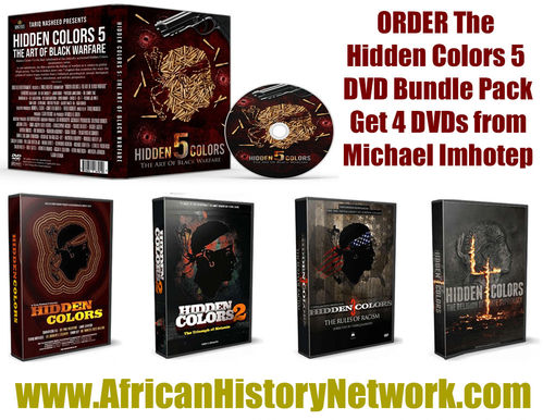 "Hidden Colors 5 Family Bundle Pack - Get All 5 ""Hidden Colors"" DVDs & Bonus DVDs, 9 DVDs Set"