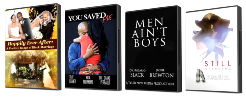 African American Relationship Bundle Pack - 4 DVDs and get 3 FREE DVDs from Michael Imhotep