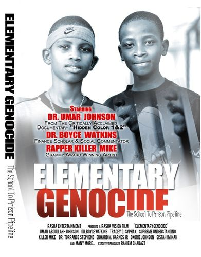 Elementary Genocide Documentary - The School To Prison Pipeline (DVD)