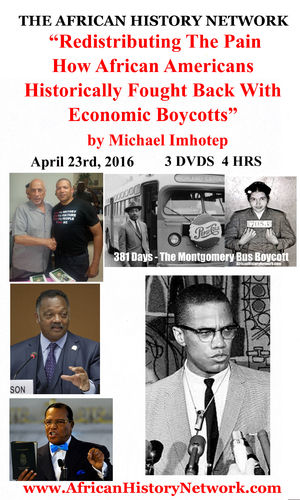 Redistributing The Pain How African Americans Fought Back With Economic Boycotts - Michael Imhotep