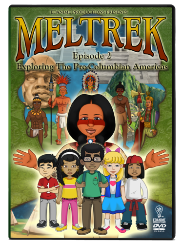 Meltrek: Exploring Pre-Columbian Americas Episode 2 Animated Series DVD
