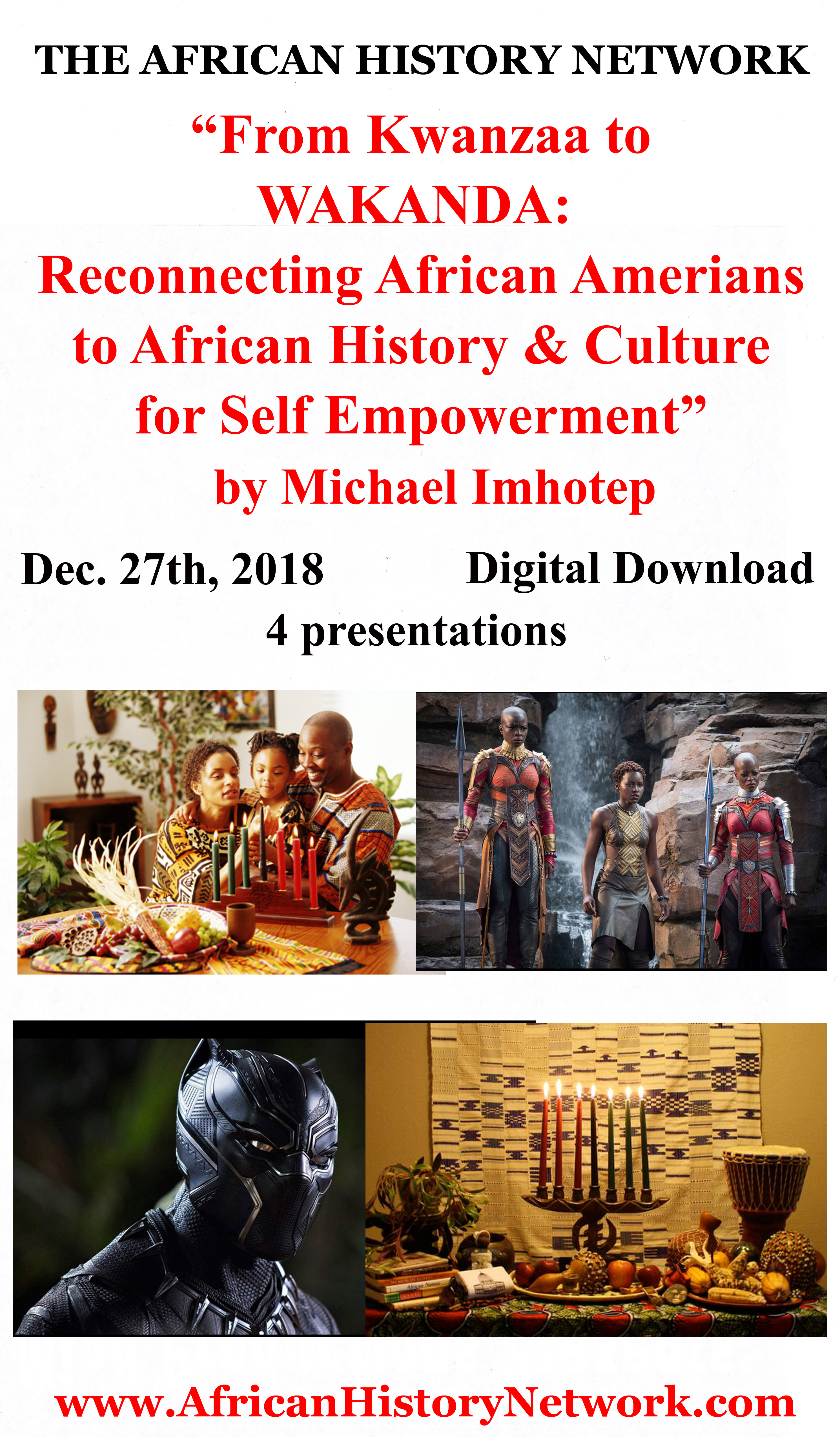 Michael_Imhotep_-_From_Kwanzaa_to_Wakanda_12-27-18_-_Download_Front_Insert_Label